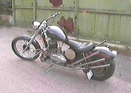 Jawa Chopper