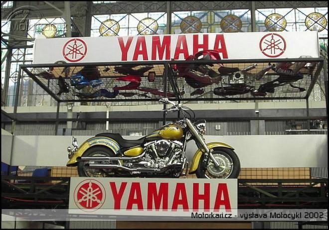 Výstava Motocykl 2002