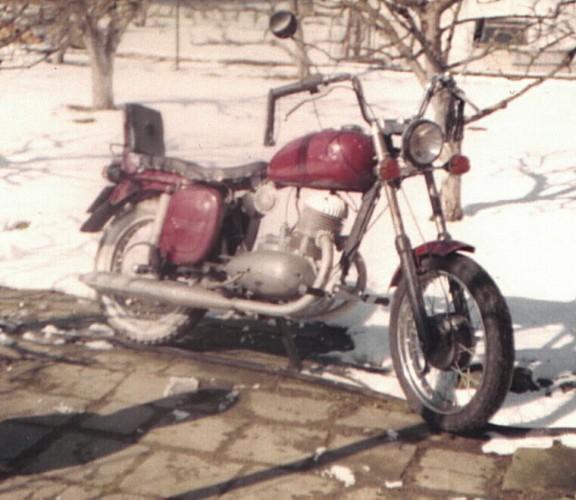 Jawa 250/353 k�va�ka (1960)