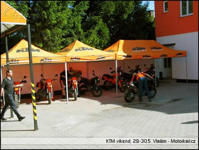KTM víkend 2004