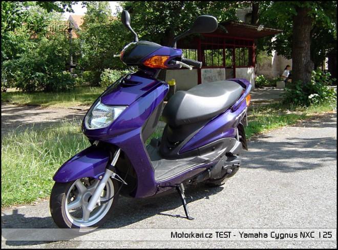 Yamaha Cygnus NXC 125