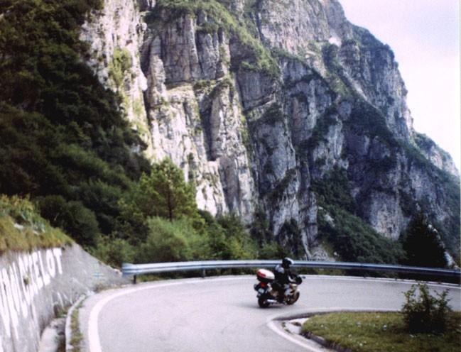 Severní Itálie ze sedla motorky