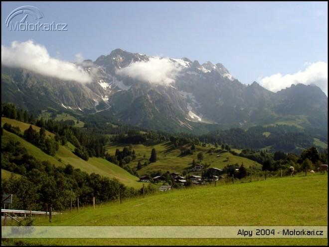 Prodloužený víkend v Alpách