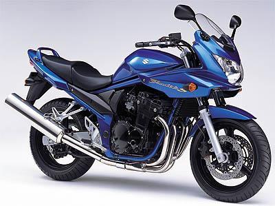 Suzuki Bandit a Kawasaki Z750S 2005
