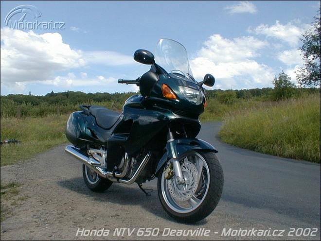 Honda NTV 650 Deauville