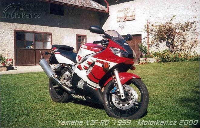 Yamaha YZF-R6 (r.v. 99 a 01)