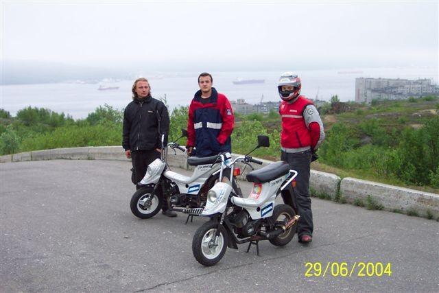 Minimotocykly za polární kruh