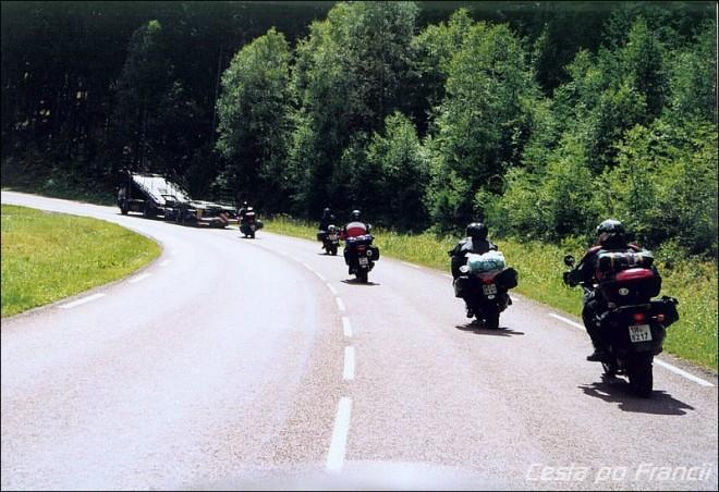 Cesta po Francii