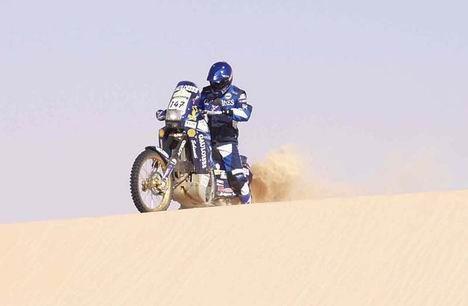 Sám voják v poli - Rallye Dakar 2005