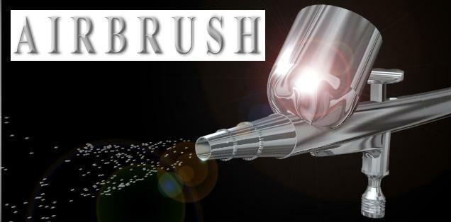 Co to je Americká retuš - Airbrush