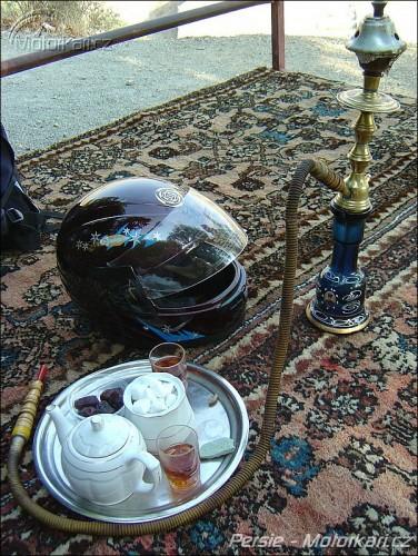 Motorkáøské iránské zátiší