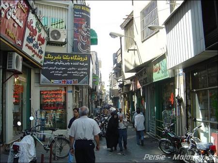 Ulice Tehrán