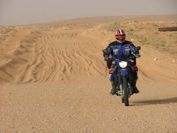Motorkáøská expedice Tunis 2005