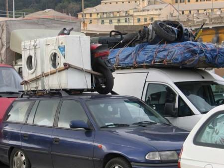Nákup Tunisanù v Itáli