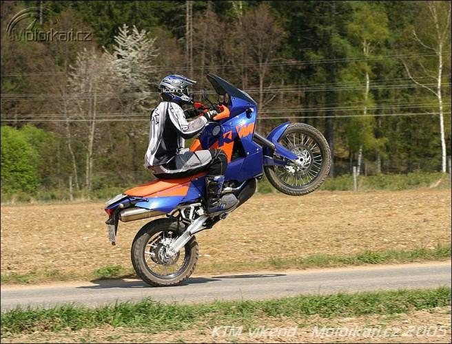 KTM víkend 2005
