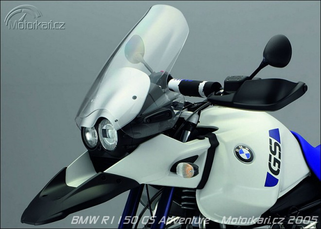 Speciální edice BMW R1150 GS Adventure