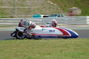 Fuki Racing Team Sidecar na Hungaroringu