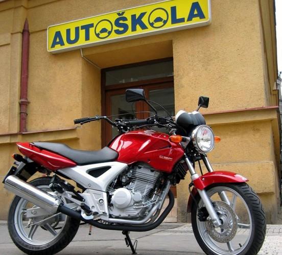 Øidièák na motorku od A do Z