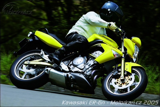 Kawasaki ER-6n - nové foto!