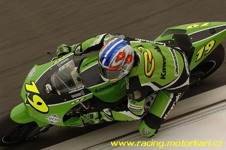 Kawasaki opet v sedle s Olivierem Jacquem
