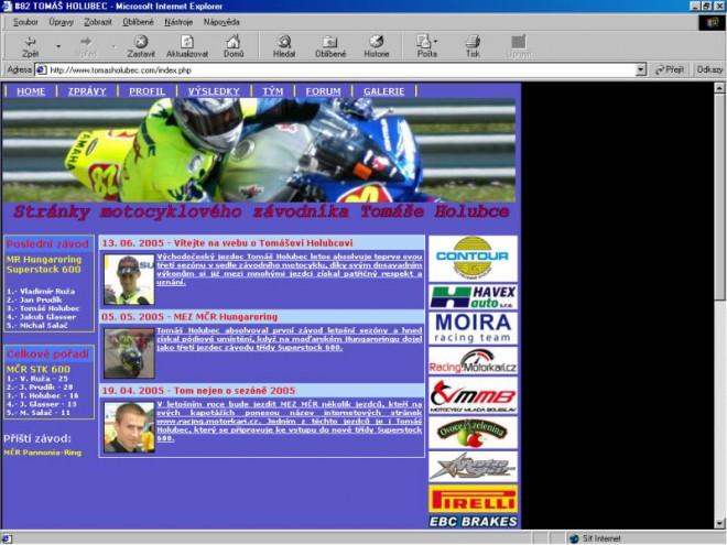 Další motocyklové stránky na èeském internetu