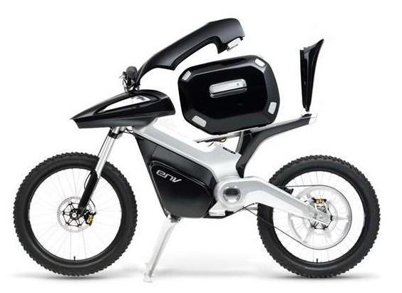 Motocykl na vodík