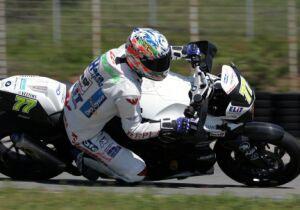 Michal Bursa na Sachsenringu havaroval