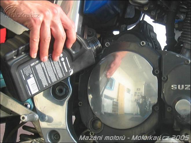 Technika motocyklu - 2. èást - mazání motorù