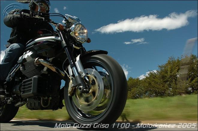 Moto Guzzi Griso ve výrobì