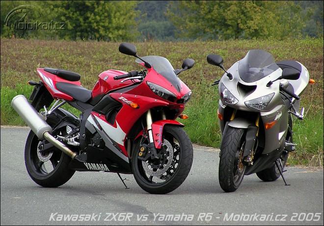Kawasaki ZX-6R vs Yamaha R6