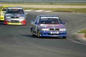 Tomáš Foukal závodil s autem