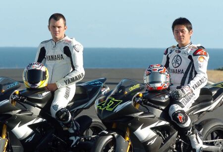 Haga a Pitt pokraèují dále s továrnou Yamaha