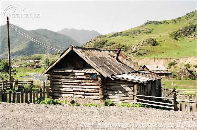 Expedice Støední Asie - Altaj a Moskva