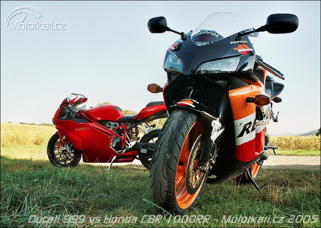 Ducati 999 vs Honda CBR 1000RR