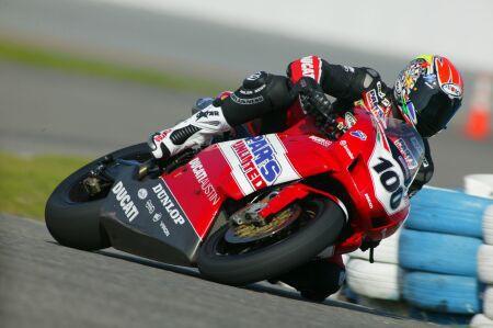 AMA Dunlop testy Daytona - 1. den