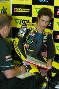 Provizorni startovni listina Grand Prix 250 ccm