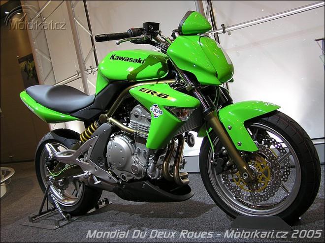 Kawasaki ER-6n Cup ve Francii
