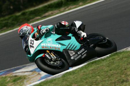 Foggy Petronas Racing testuje v Austr�lii