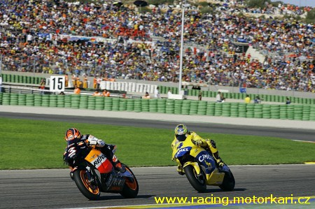 Grand Prix Valencie v roce 2005 nejlepší
