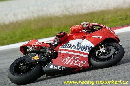 Fotografie z testù MotoGP na okruhu Sepang
