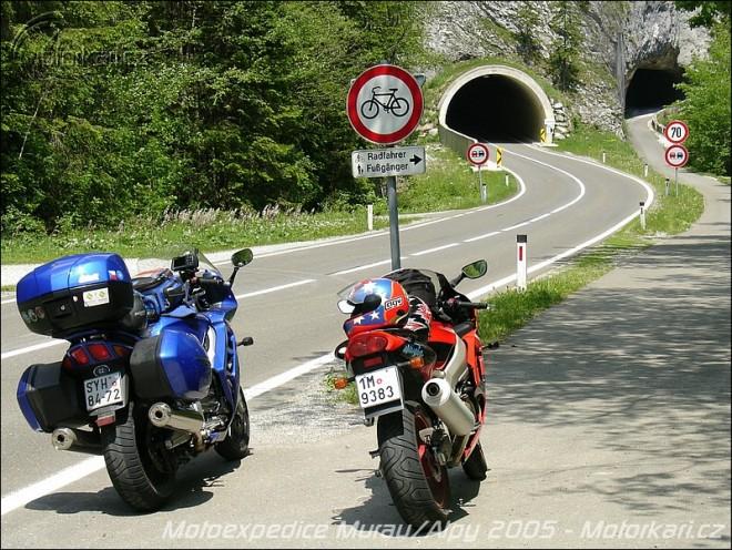 Motoexpedice Murau / Alpy