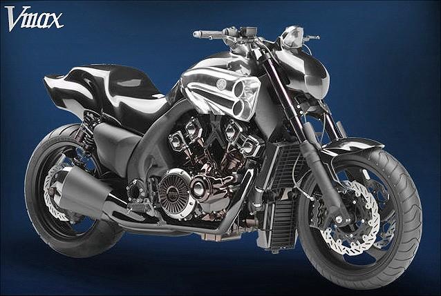 Nov� Yamaha V-Max se bl��