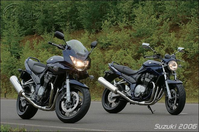 Ceníky motocyklù Suzuki pro rok 2006