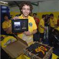 Valentino Rossi dnes slavil v depu narozeniny