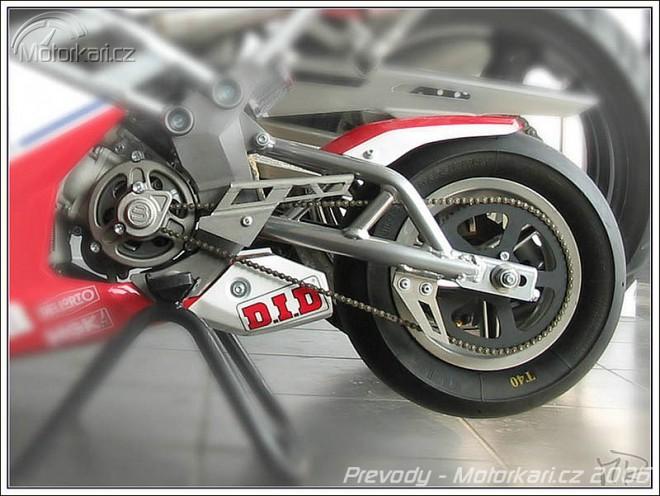 Technika motocyklu - 10. èást - pøevody