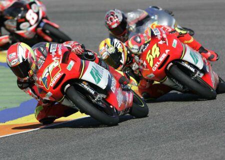 Testy tøídy 125 ve španìlském Jerezu