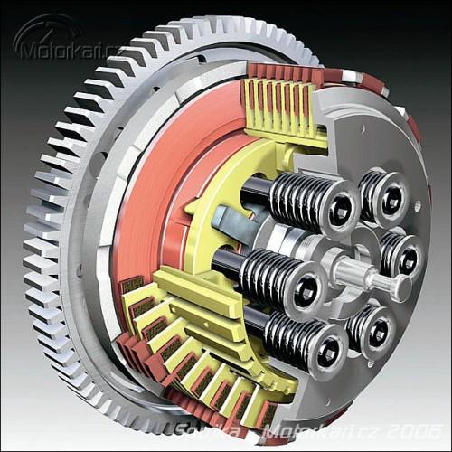Technika motocyklu - 11. èást - spojka