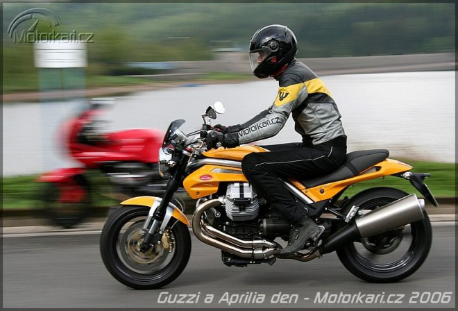 Pøedvádìcí den Moto Guzzi