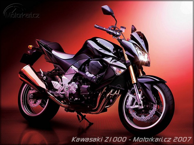 Kawasaki Z1000 pro rok 2007