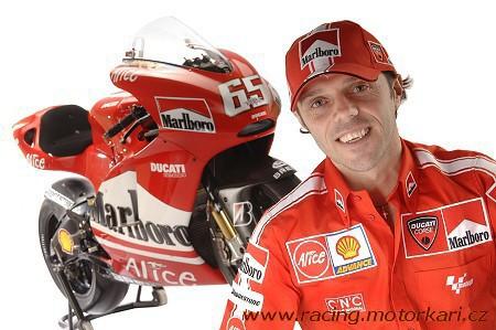 Loris Capirossi u Ducati i v roce 2007